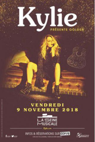 Concert KYLIE MINOGUE à BOULOGNE BILLANCOURT @ La Seine Musicale - Billets & Places
