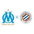 Match Olympique de Marseille - Montpellier HSC