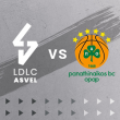 Match LDLC ASVEL - PANATHINAÏKOS à Villeurbanne @ Astroballe - Billets & Places