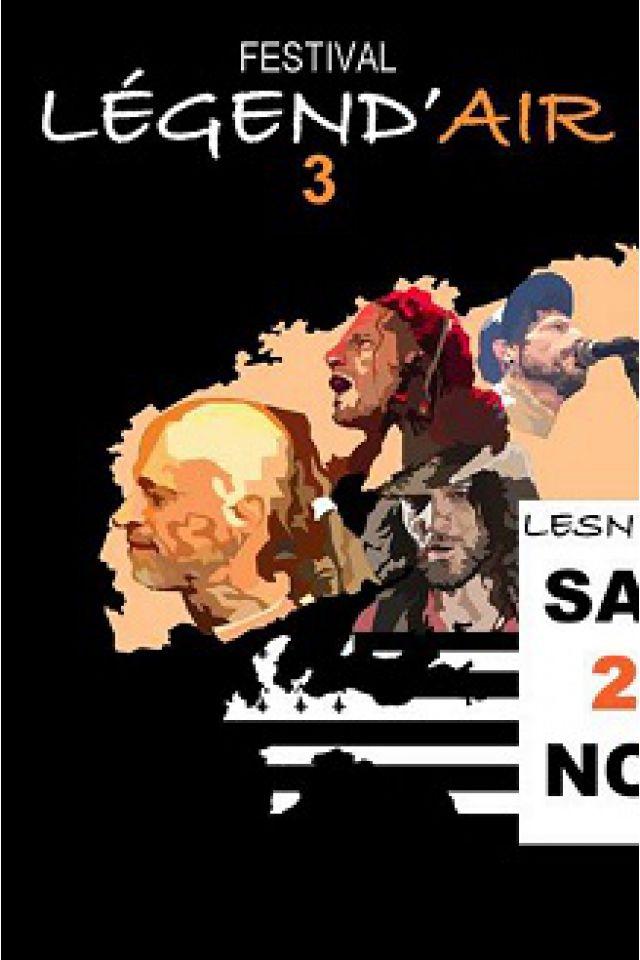 FESTIVAL LEGEND'AIR  - HILIGHT TRIBE, LES RAMONEURS DE MENHIRS @ Salle Kerjézéquel - LESNEVEN