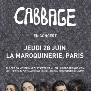 CABBAGE @ La Maroquinerie - PARIS