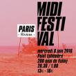 Concert MIDI FESTIVAL PRÉSENTE PARIS RIVIERA W/ FORMATION + KEEP DANCING  @ Point Ephémère - Billets & Places