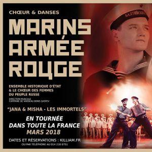 """LES MARINS DE L'ARMEE ROUGE """"Jana & Misha - LES IMMORTELS"""" @ LE CAPITOLE - CHÂLONS EN CHAMPAGNE"""