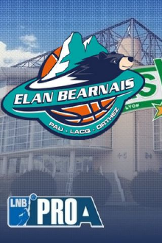Billets ELAN BEARNAIS / ASVEL - Palais des Sports de Pau