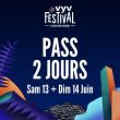 VYV Festival 2020 - PASS 2 JOURS à CORCELLES LES MONTS @ Parc de la Combe à la Serpent - Billets & Places