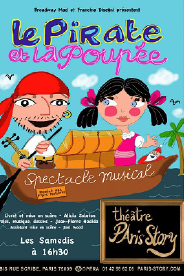 LE PIRATE ET LA POUPEE @ THEATRE PARIS STORY - PARIS