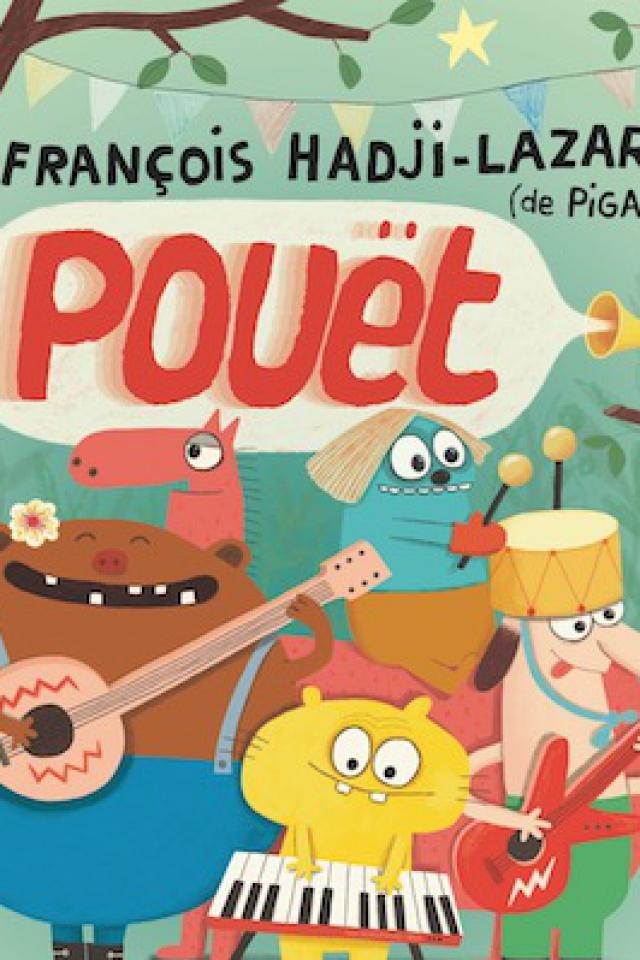 POUET FRANCOIS HADJI LAZARO @ L'Usine - Istres