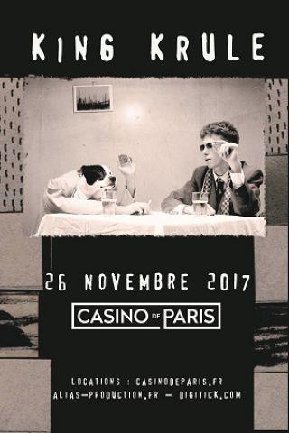 Concert  KING KRULE à Paris @ Casino de Paris - Billets & Places