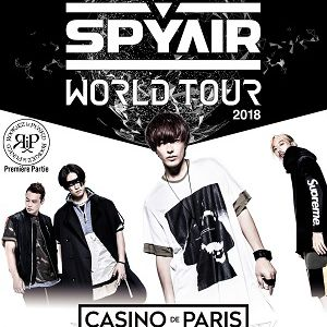 SPYAIR WORLD TOUR 2018 @ Casino de Paris - Paris
