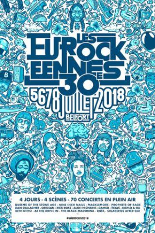 Festival LES EUROCKEENNES DE BELFORT - PASS 4 JOURS