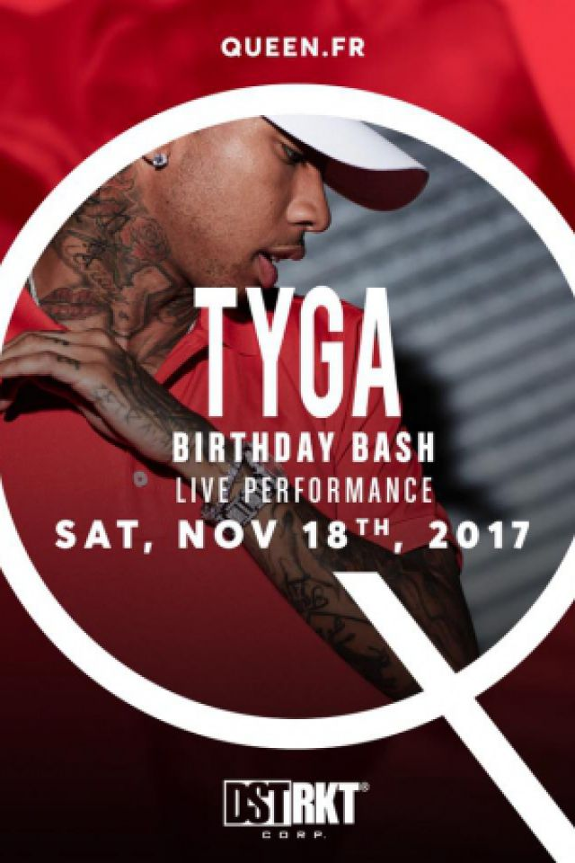 Billets TYGA - Queen Club