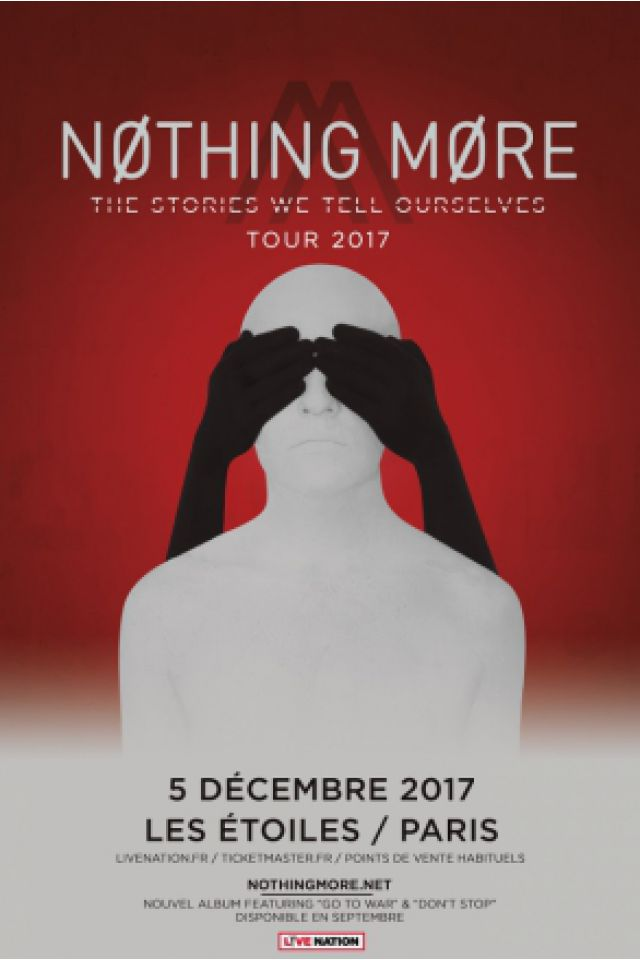 Concert NOTHING MORE à Paris @ THEATRE LES ETOILES - Billets & Places