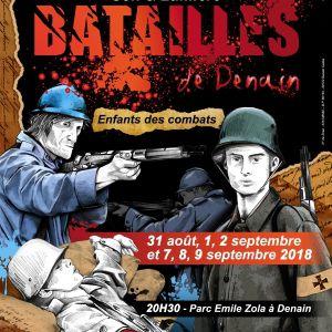 BATAILLES DE DENAIN @ PARC EMILE ZOLA - DENAIN
