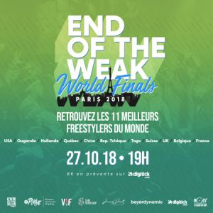 END OF THE WEAK WORLD FINALS @ La Place - PARIS