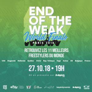 END OF THE WEAK WORLD FINALS @ La Place - PARIS