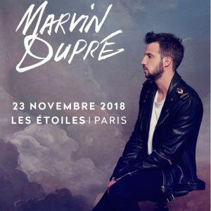 MARVIN DUPRE @ THEATRE LES ETOILES - Paris