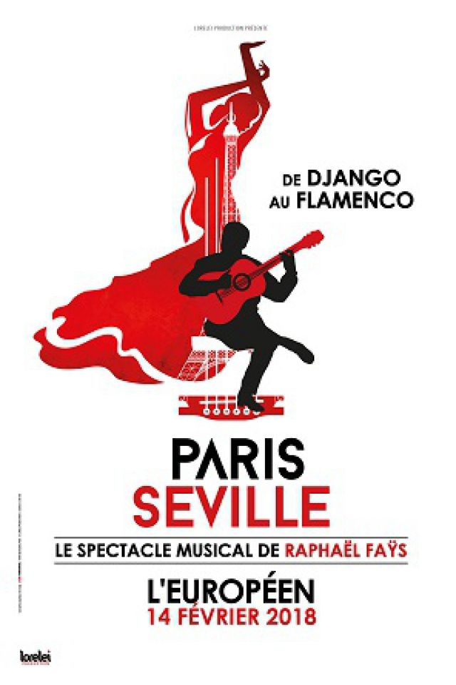 PARIS SEVILLE @ L'Européen - Paris