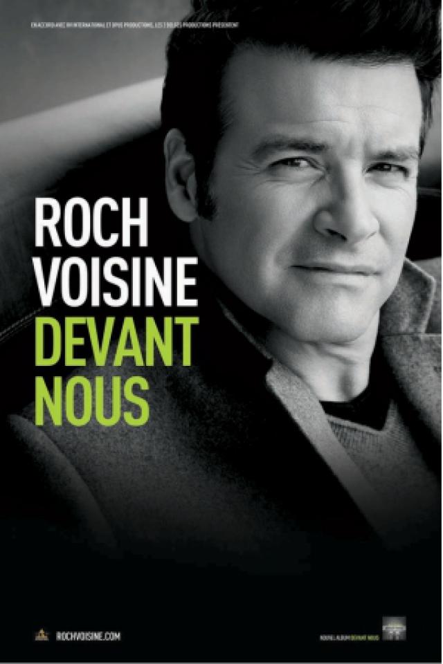 Concert ROCH VOISINE à Tours @ Le Vinci - Auditorium François 1er - Billets & Places