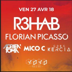 Billets Aftershow Fun Radio Ibiza Experience : R3HAB & Florian Picasso - YOYO - PALAIS DE TOKYO