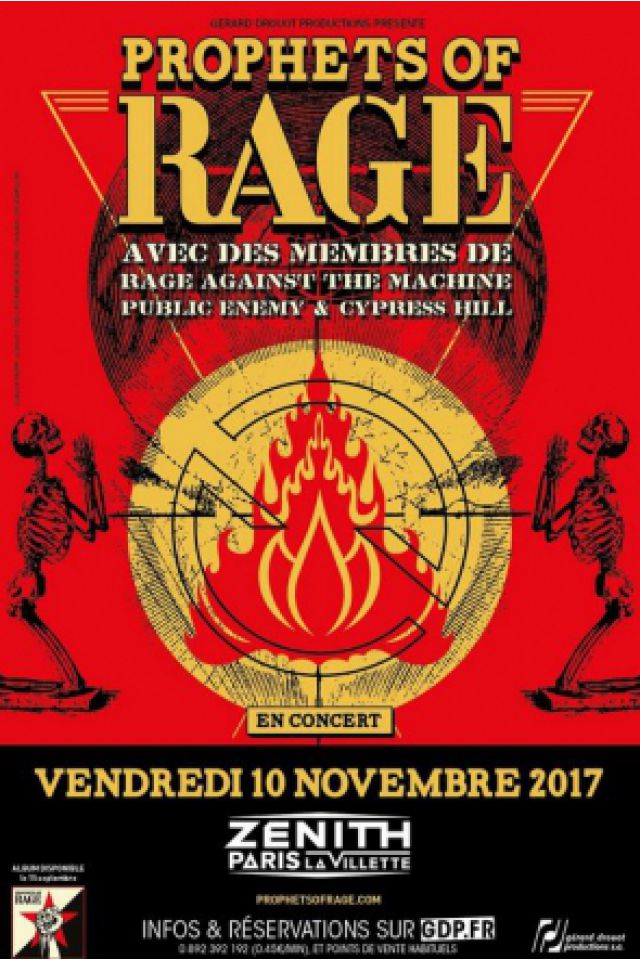 PROPHETS OF RAGE @ Zénith Paris La Villette - Paris