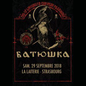 BATUSHKA + Guest  @ La Laiterie - Grande Salle - Strasbourg