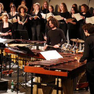 Le Conservatoire de Lyon chante Björk & Radiohead @ Le Galet - REYRIEUX