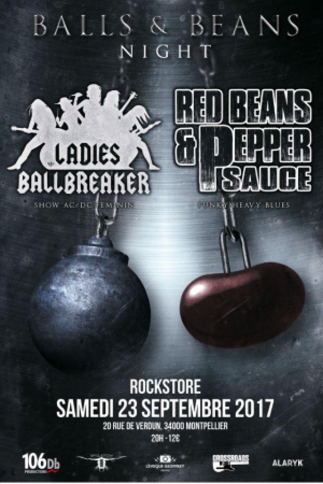 BALLS & BEANS NIGHT @ Le Rockstore - Montpellier