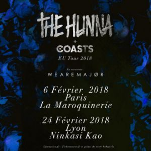 THE HUNNA + COASTS @ Ninkasi kao - LYON