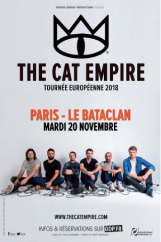Billets THE CAT EMPIRE - LE BATACLAN