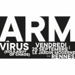 Concert ARM + VÎRUS solo (Solilaquy of Chaos) à RENNES @ Le Jardin Moderne - Billets & Places