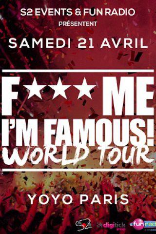 Soirée F*** ME I'M FAMOUS à PARIS @ YOYO - PALAIS DE TOKYO - Billets & Places