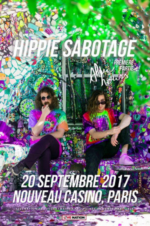 HIPPIE SABOTAGE @ Le Nouveau Casino - Paris