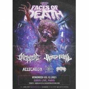 Avocado Booking Presents: Rising Merch Faces Of Death Tour 2021