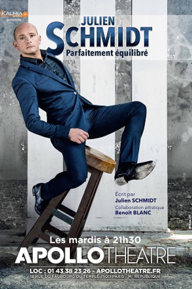 Julien Schmidt dans Parfaitement équilibré @ APOLLO THEATRE - PARIS