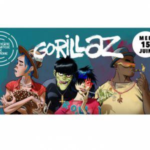 Gorillaz + 1Ère Partie