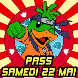 Kamo Con 5.2 - Pass Journée - Samedi