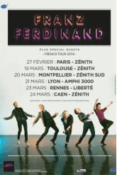 Billets FRANZ FERDINAND + guest - AMPHITHEATRE CITE INTERNATIONALE