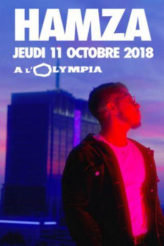 Concert HAMZA  à Paris @ L'Olympia - Billets & Places