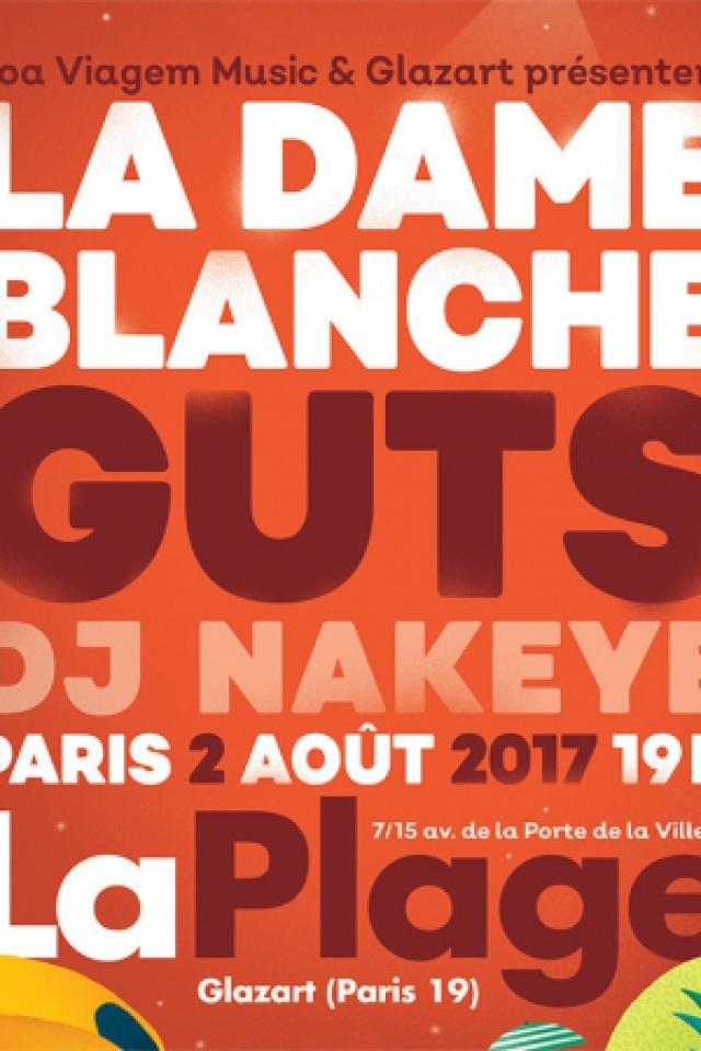 La Dame Blanche & GUTS à Paris @ Glazart - PARIS 19