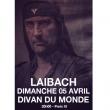 Concert LAIBACH à Paris @ Divan du Monde - Billets & Places