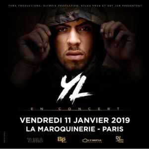 YL @ La Maroquinerie - PARIS