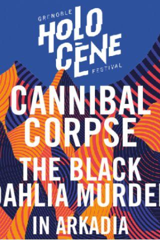 concert holocene festival cannibal corpse the black. Black Bedroom Furniture Sets. Home Design Ideas