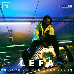 Billets LEFA - Ninkasi Gerland / Kao