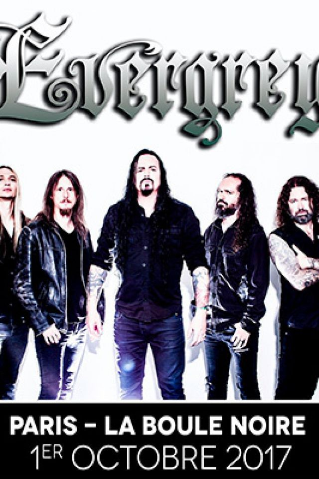 Concert EVERGREY + NEED à PARIS @ La Boule Noire - Billets & Places
