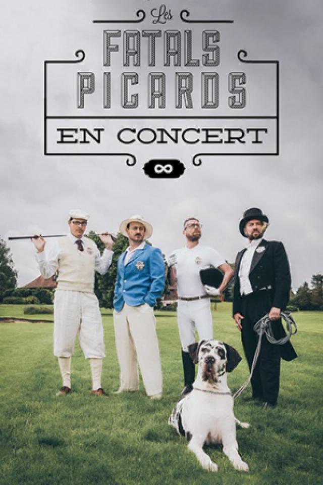 Concert Les Fatals Picard à REYRIEUX @ Le Galet - Billets & Places