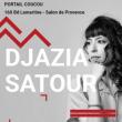 Carte DJAZIA SATOUR à Salon de Provence @ Café-Musiques PORTAIL COUCOU - Billets & Places