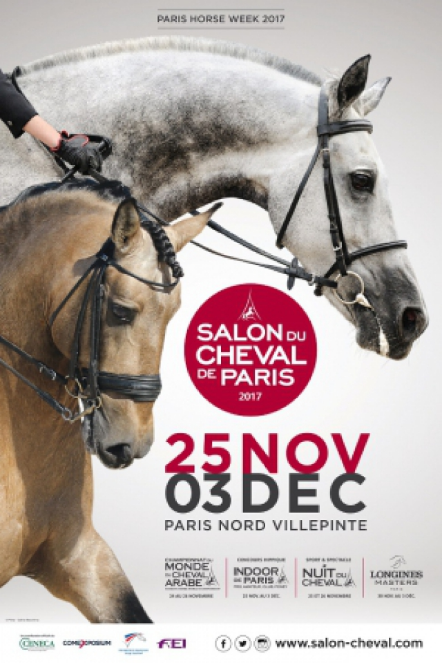 SALON DU CHEVAL DE PARIS 2017 @ Parc des Expositions Paris Nord Villepinte - VILLEPINTE