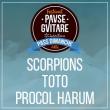 Concert SCORPIONS + TOTO + PROCOL HARUM