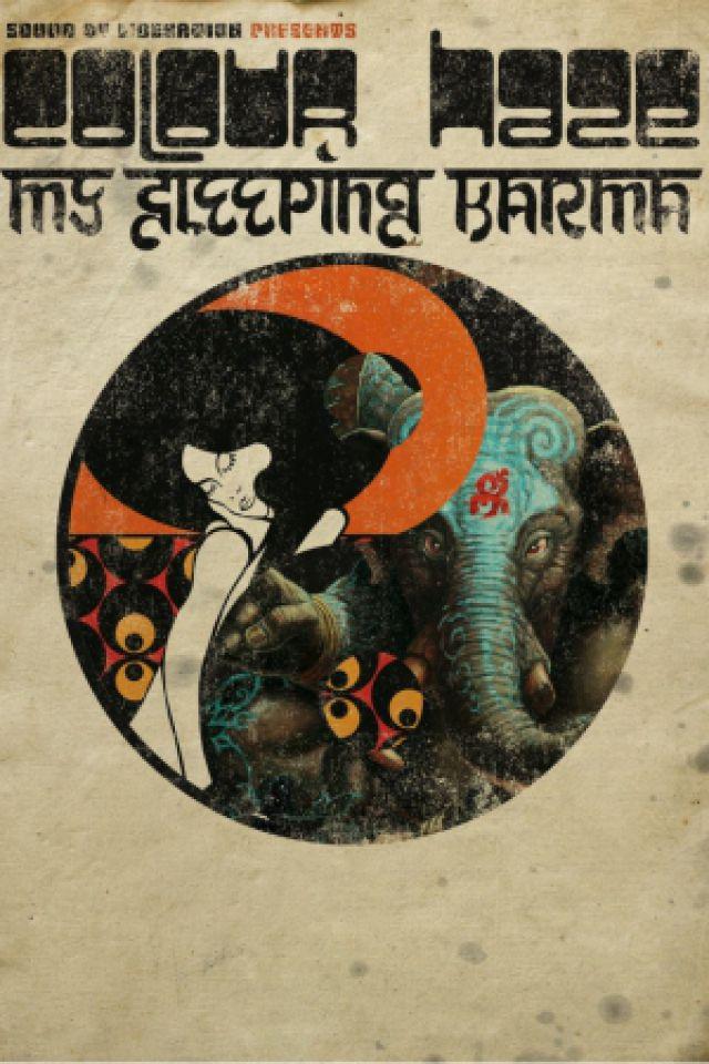 Concert COLOUR HAZE / MY SLEEPING KARMA à Paris @ Divan du Monde - Billets & Places