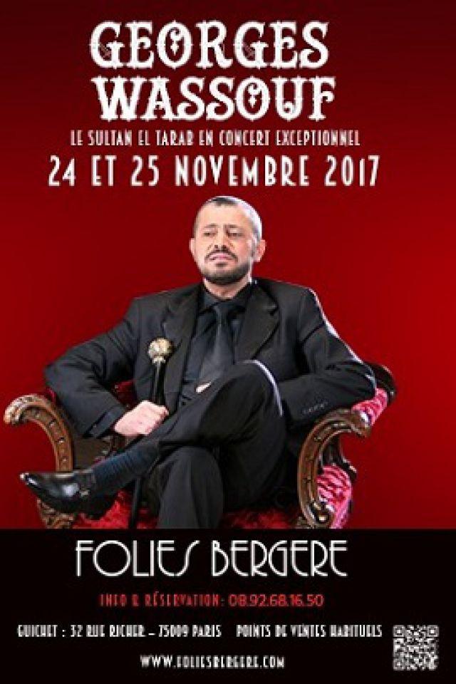GEORGES WASSOUF @ Théâtre des Folies Bergère - Paris